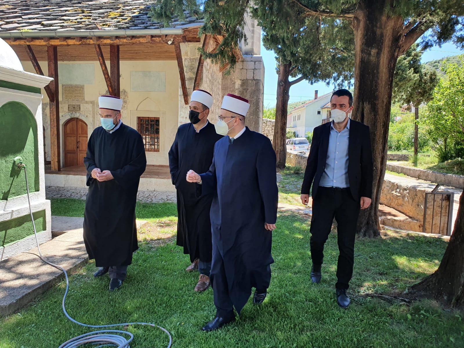 Ramazanska posjeta Medžlisu Islamske zajednice Stolac