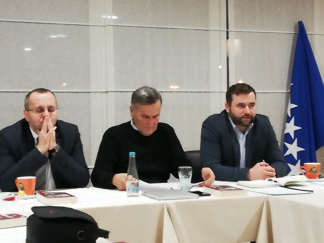 Novi saziv Izvršnog odbora Medžlisa IZ-e Mostar održao prvu radnu sjednicu