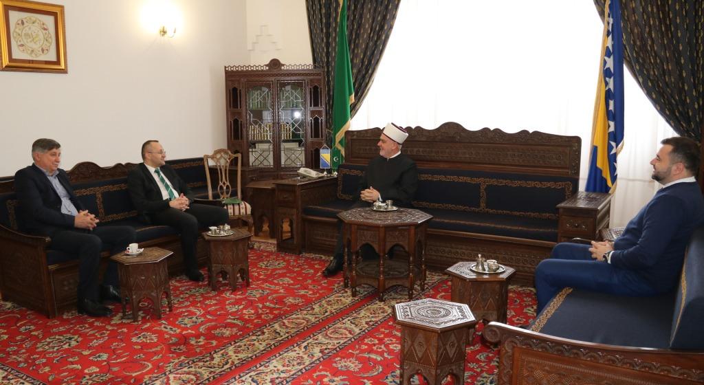 Reisu-l-ulema primio muftiju mostarskog