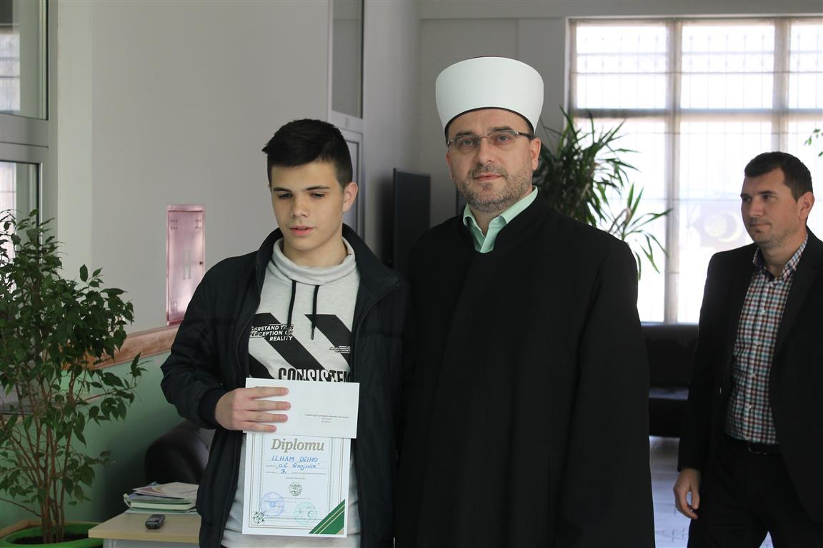 U Medresi održano regionalno takmičenje iz vjeronauke za područje Mostarskog muftijstva