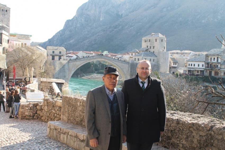Izaslanik predsjednika Republike Indonezije u posjeti Mostaru