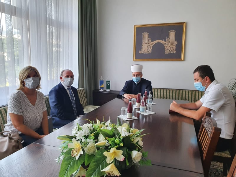 Generalni konzul Republike Turske u Mostaru u posjeti Muftijstvu mostarskom